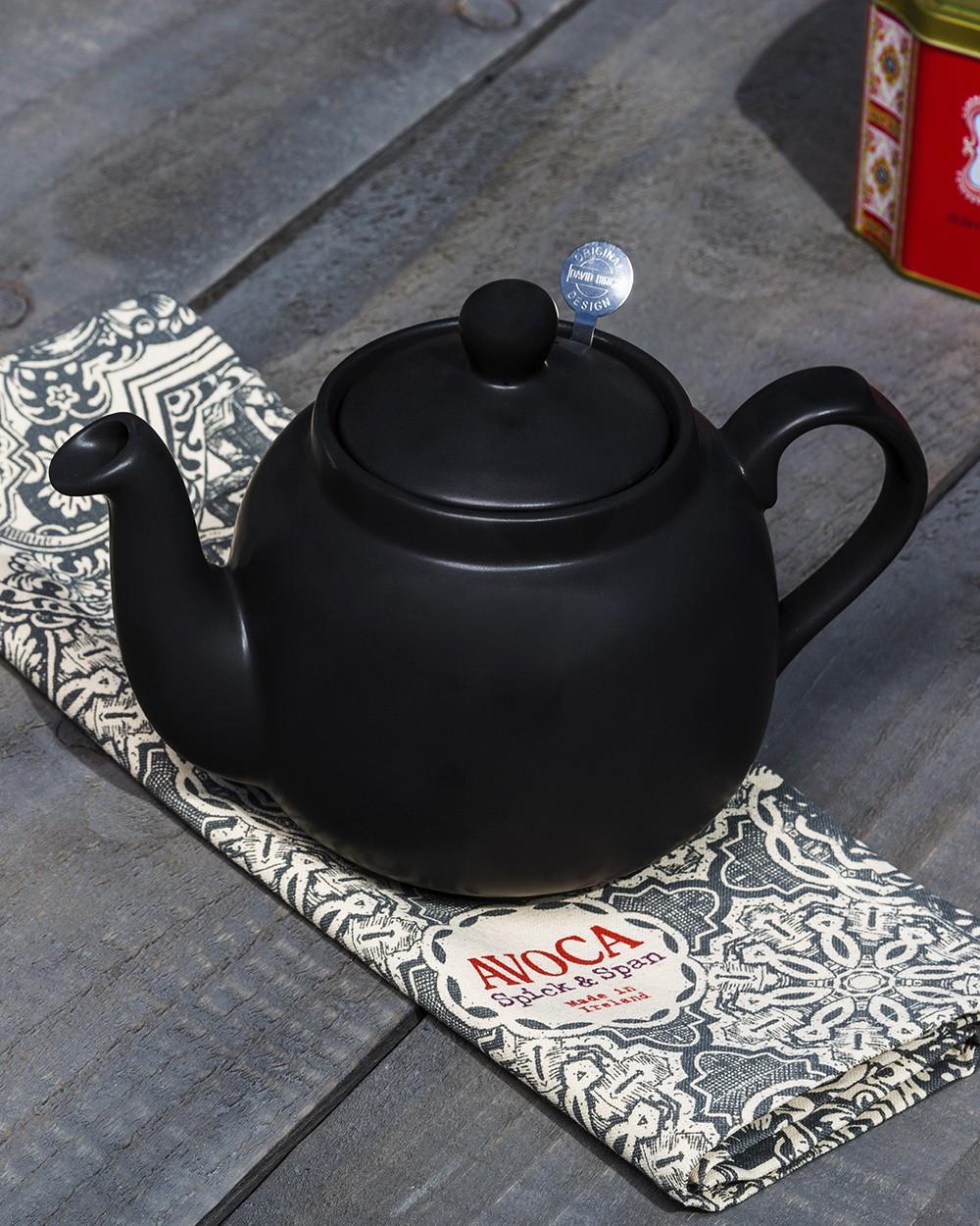 Farmhouse Teapot In Black