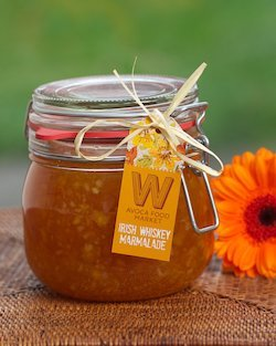 Whiskey Marmalade in Parfait Jar