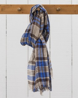 Florence Linen Scarf in Summer