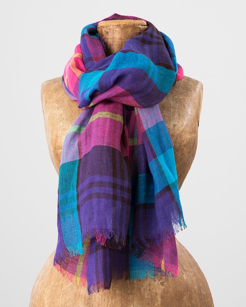 Loganberry Florence Scarf
