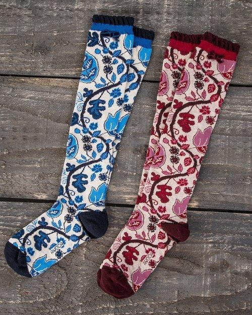 Fruiting Vine Knee Socks