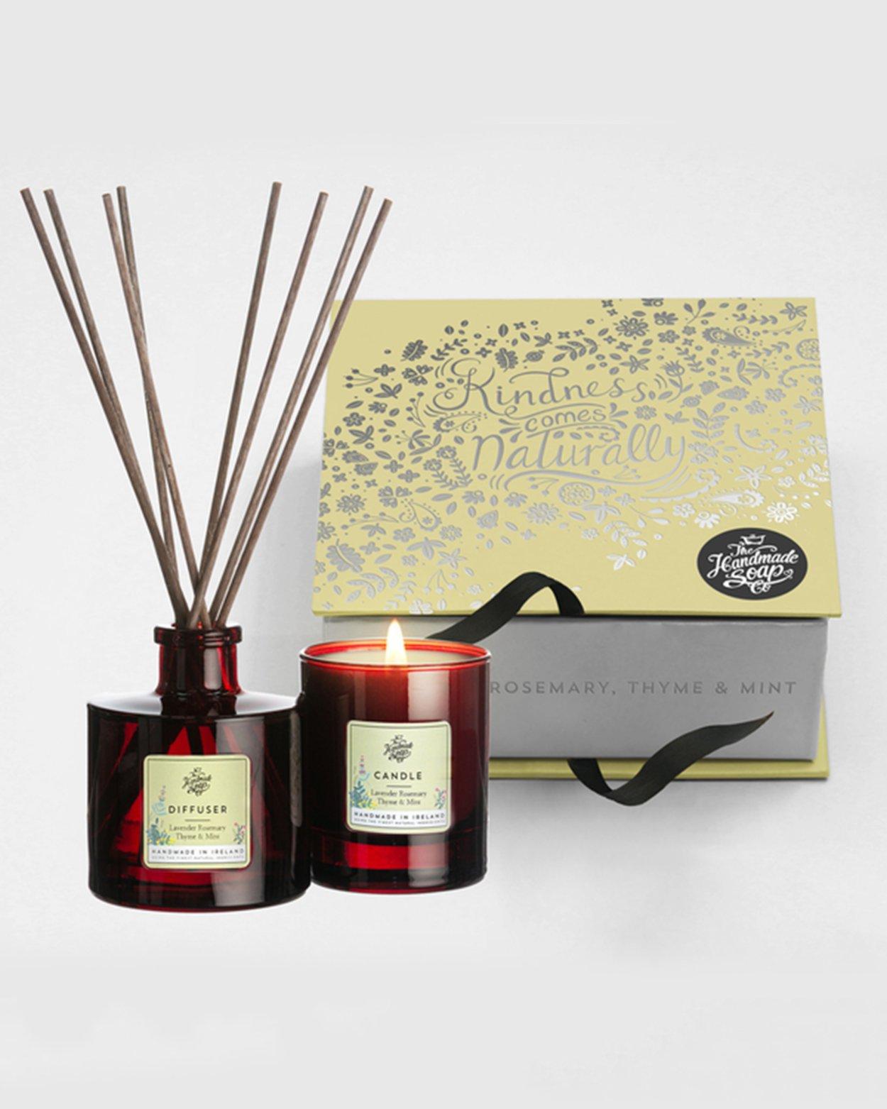 Lavender, Rosemary, Thyme & Mint Gift Set