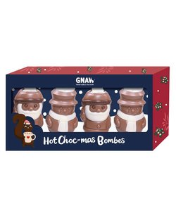 Hot Choc-Mas Bombes