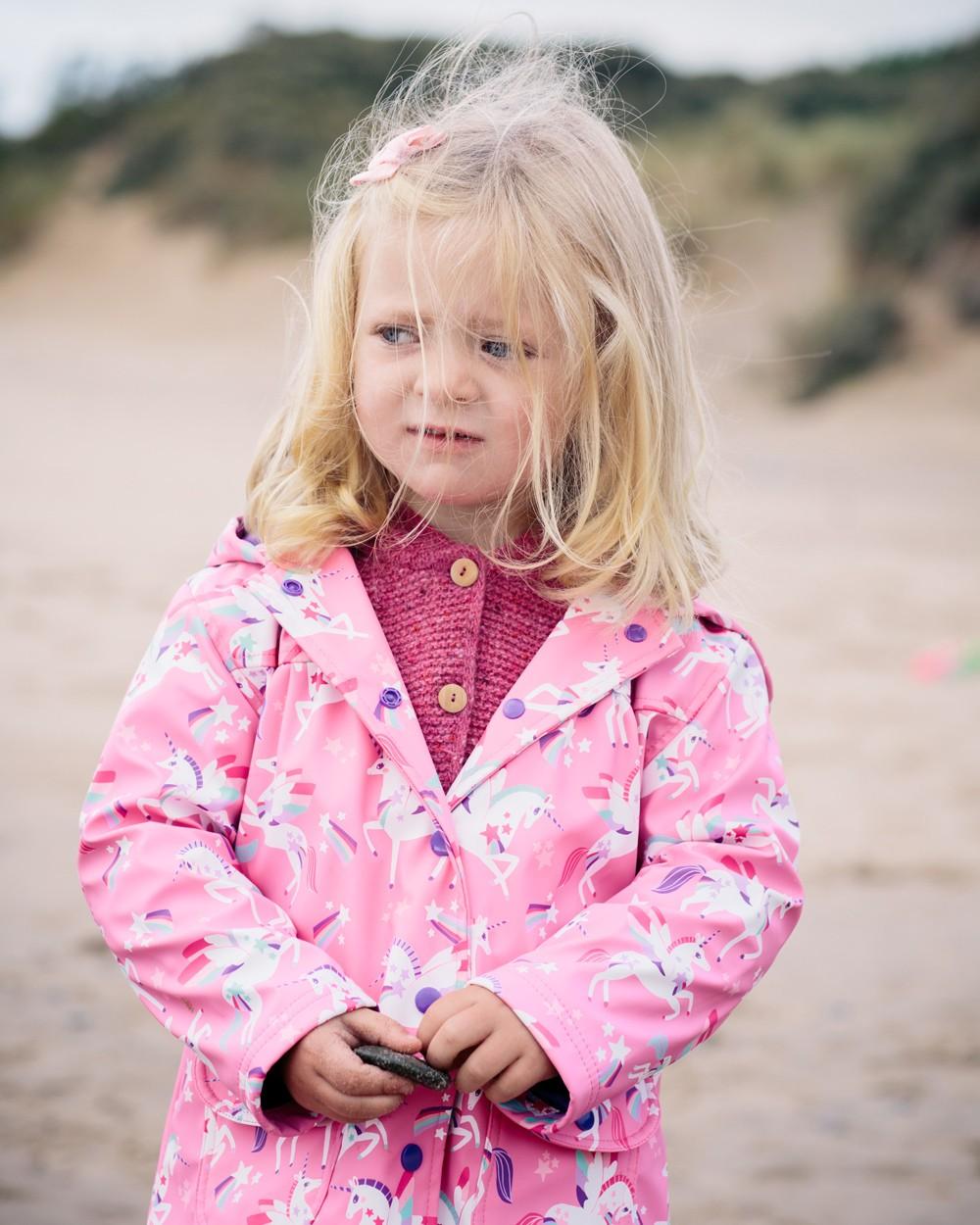Hatley Pink Unicorn Raincoat
