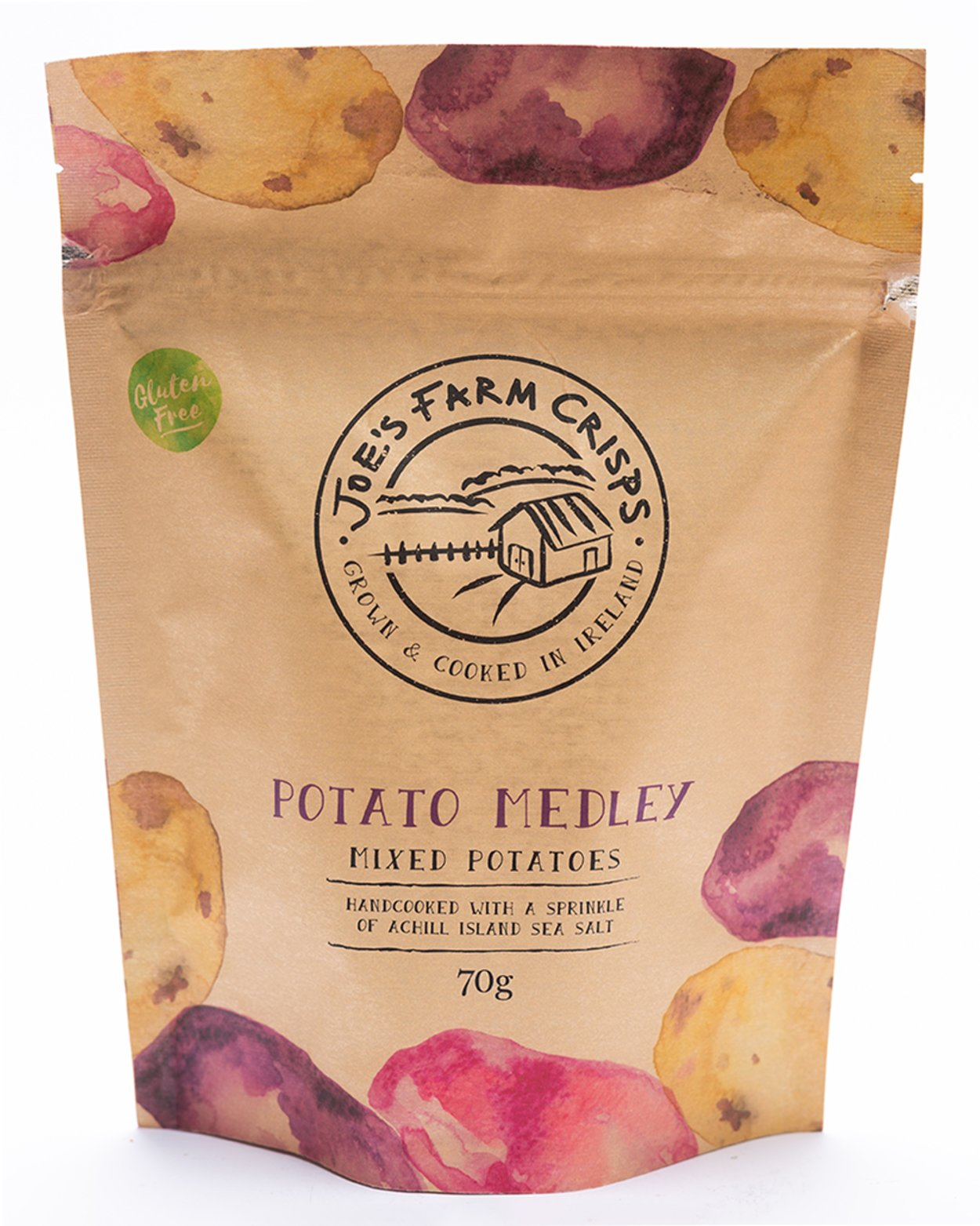 Joe's Farm Crisps Gluten Free Lightly Salted Potato Crisps