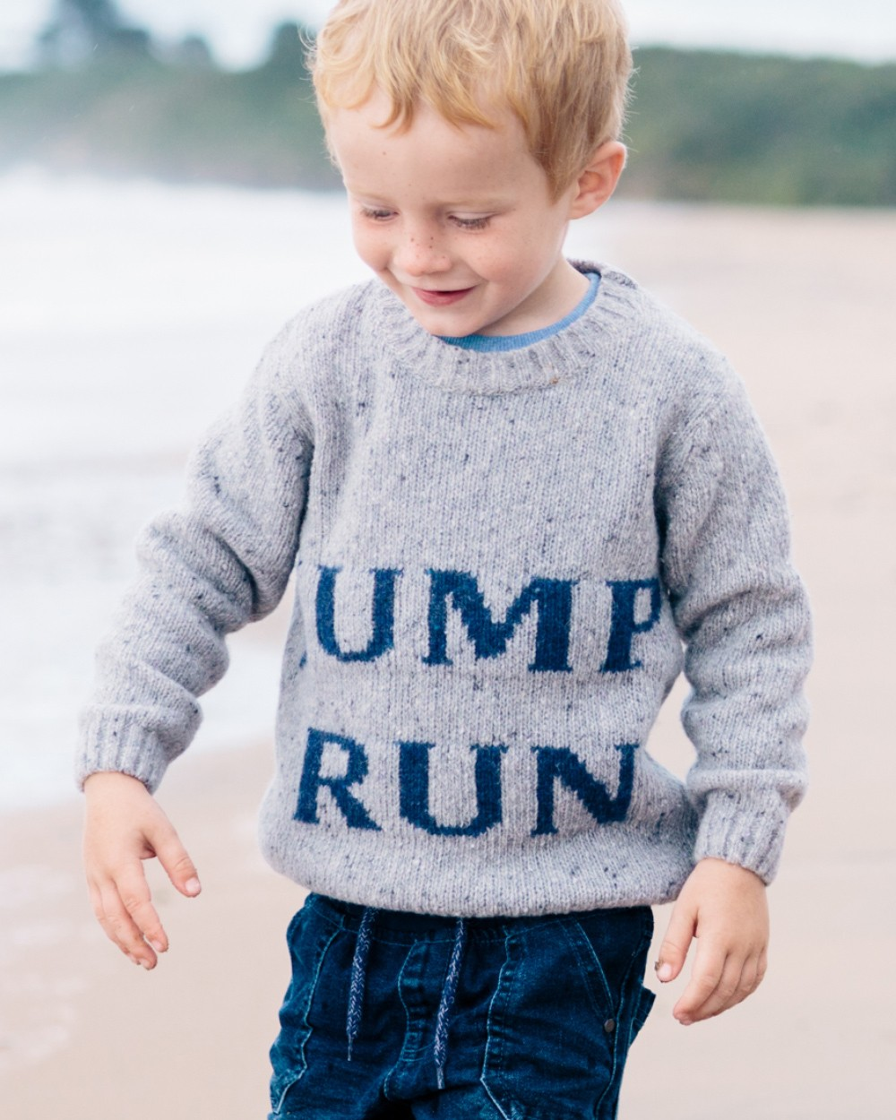 Jump/Run Lambswool Jumper