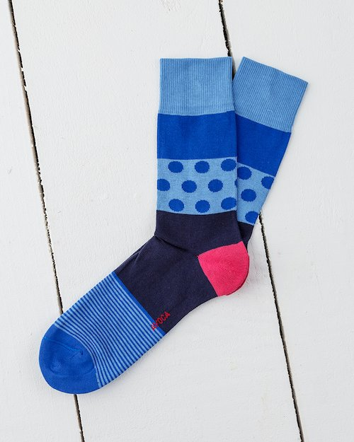Dennis Socks in Blue