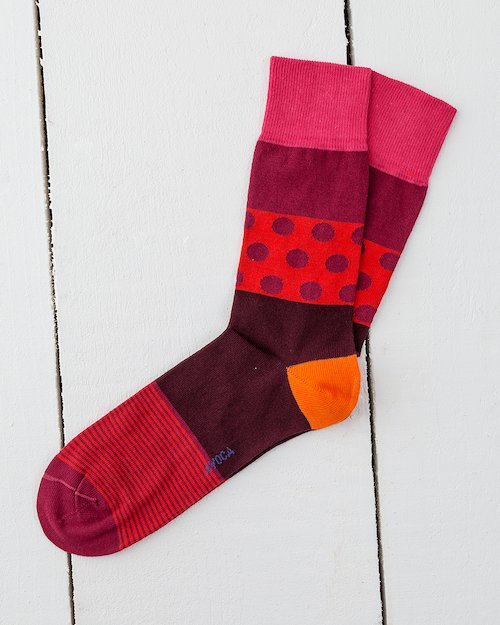 Dennis Socks in Red