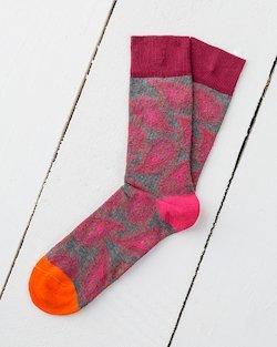 Paisley Socks in Pink