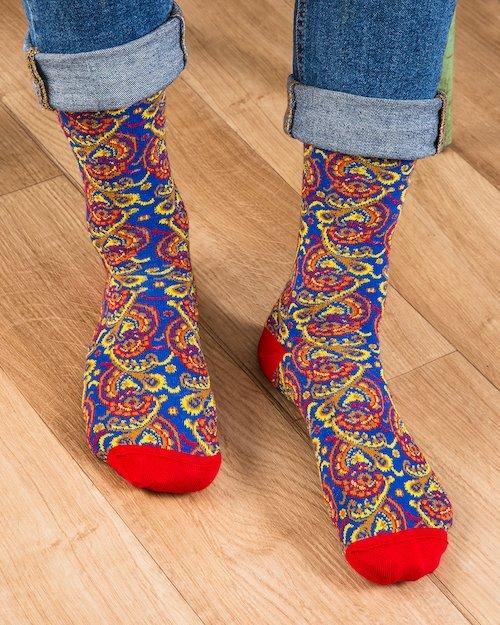 Funky Paisley Socks