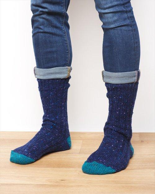 Men's Donegal Wool Socks