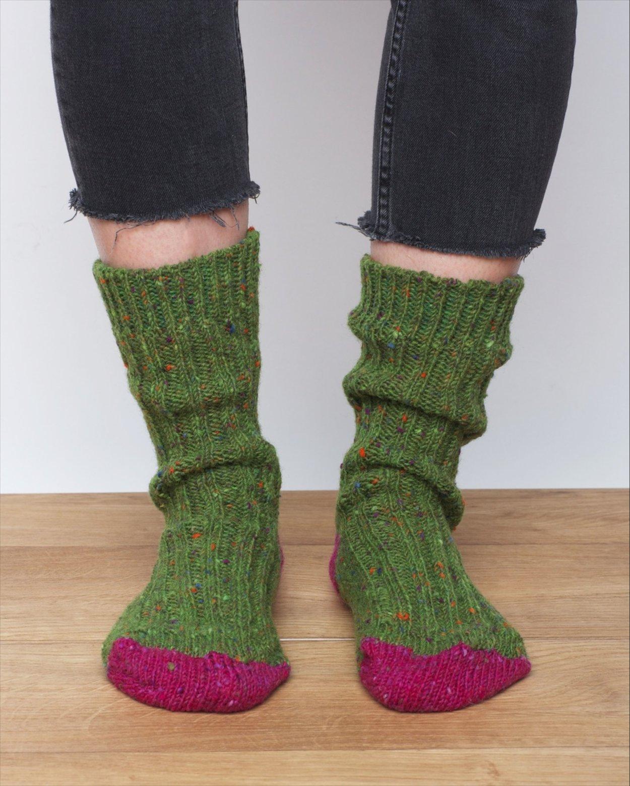 Women's Donegal Wool Socks