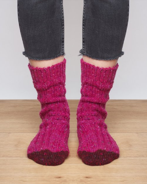 Women's Donegal Wool Socks