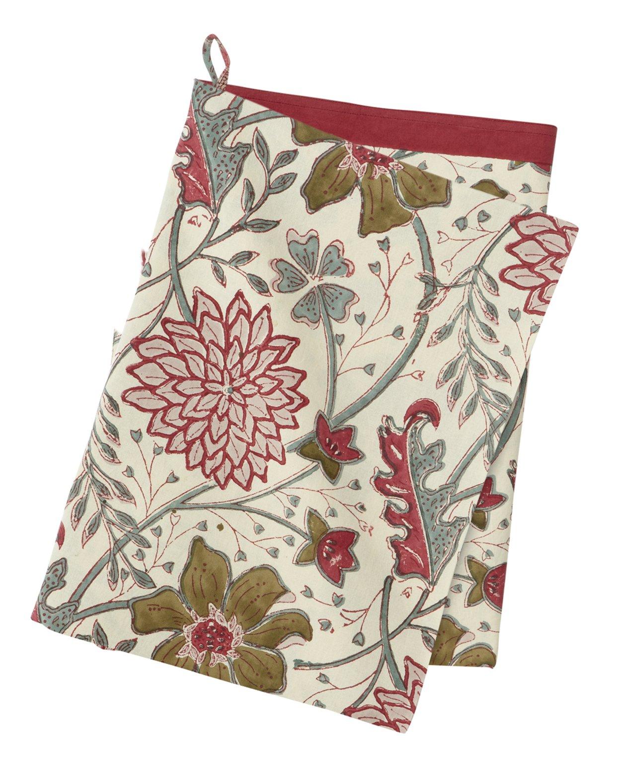 Sitapur Salsa Cotton Kitchen Towel