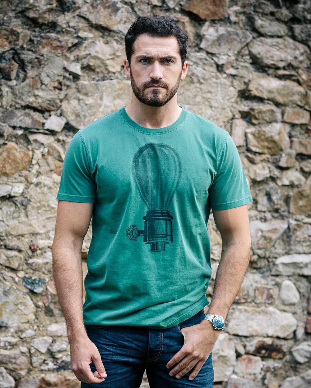 Lamp T-Shirt - Green