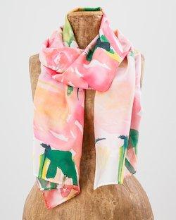 Garden Party Silk Scarf