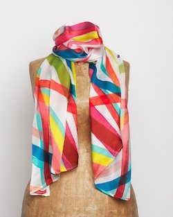 Circus Threads Silk Scarf