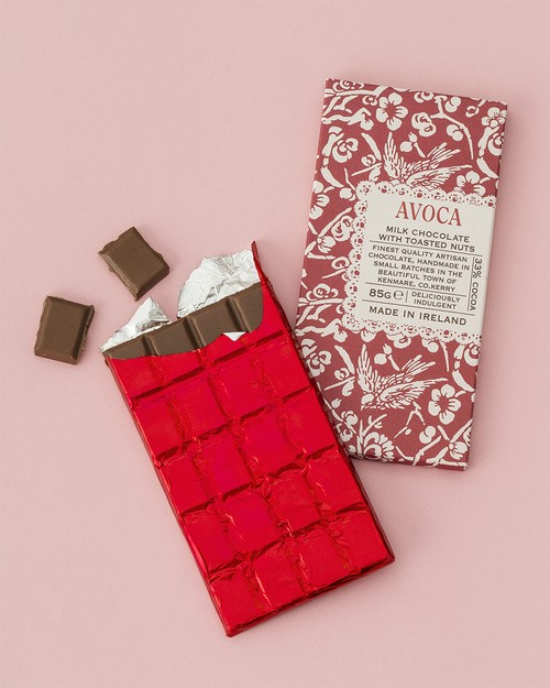 Milk Chocolate Bar with Toasted Nuts