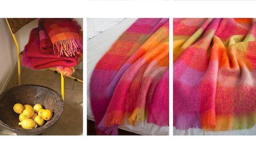 Lotus Mohair Throw