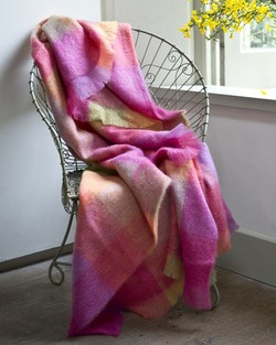 Lotus Mohair Throw