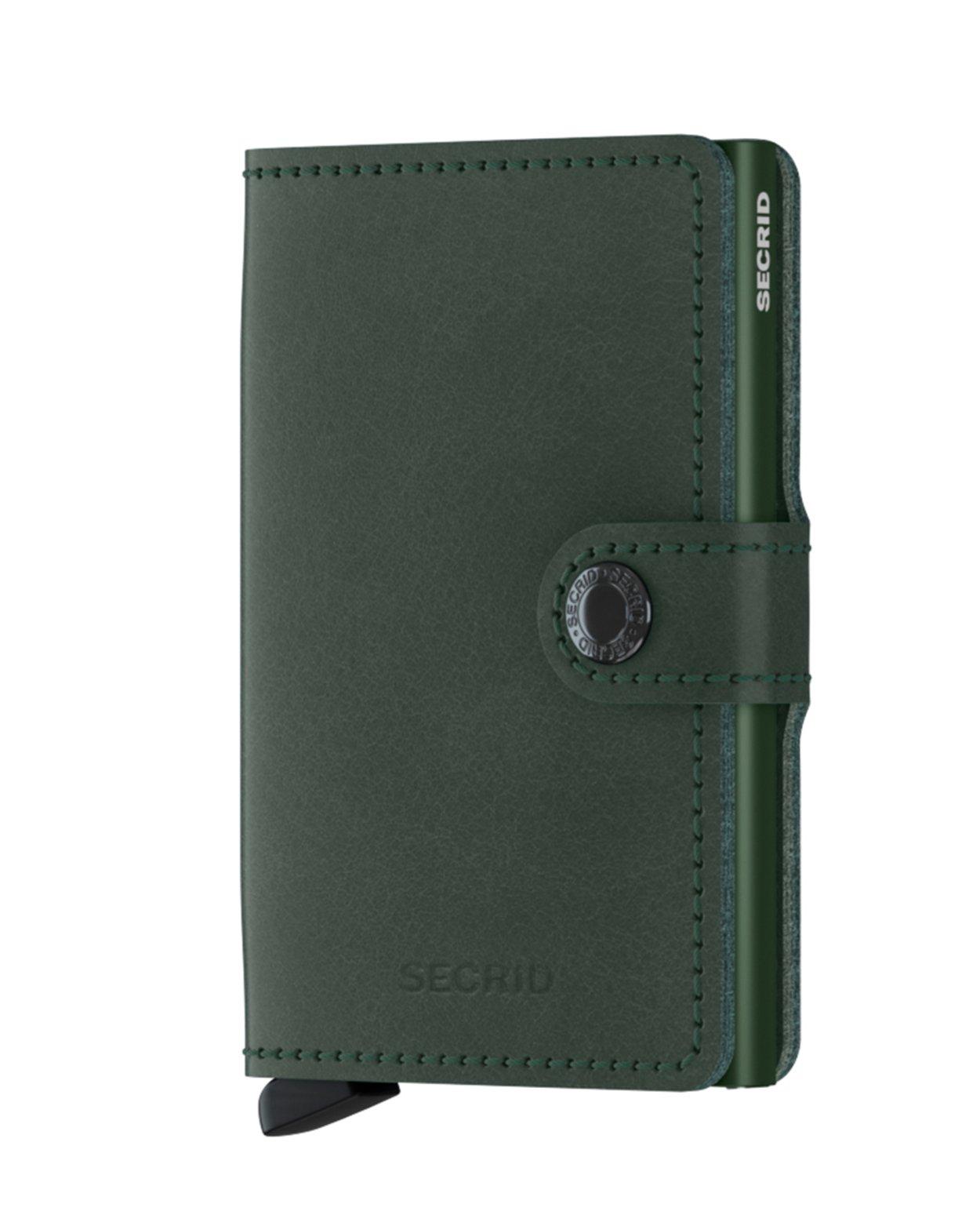 Original Leather Mini Wallet - Green