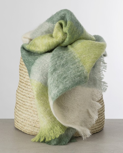M192 Mohair Throw