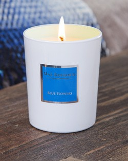 Blue Flowers Scented Candle by Max Benjamin
