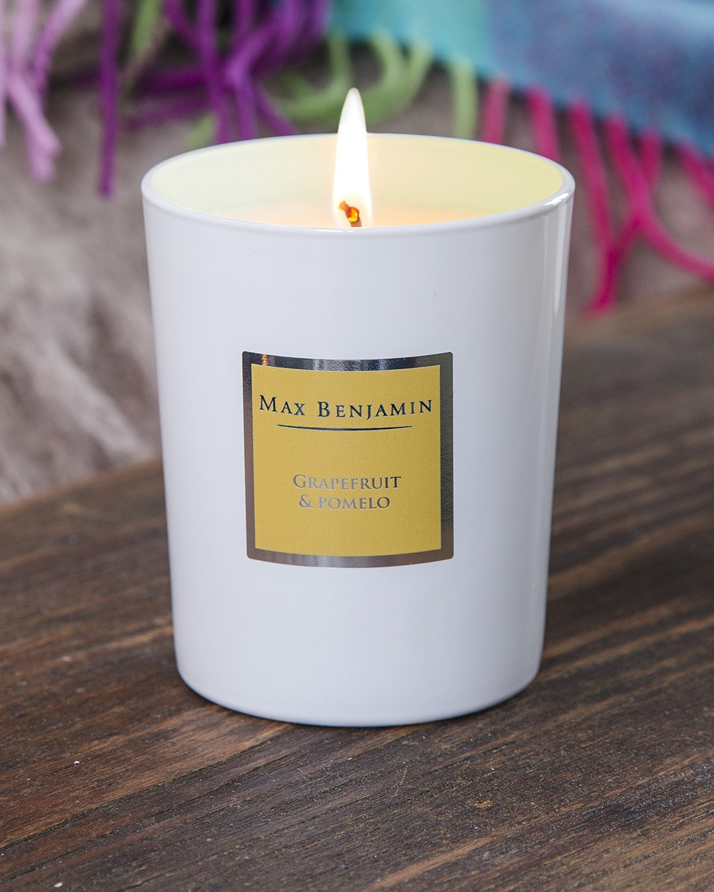 Grapefruit and Pomelo Scented Candle by Max Benjamin