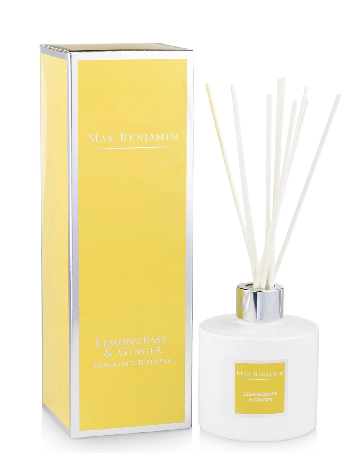 Lemongrass and Ginger Diffuser by Max Benjamin