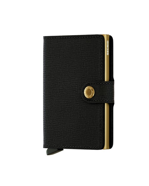 Secrid Wallet and Card Protector in Crisple Black Gold