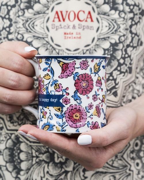 Oh, Happy Day Flower Mug
