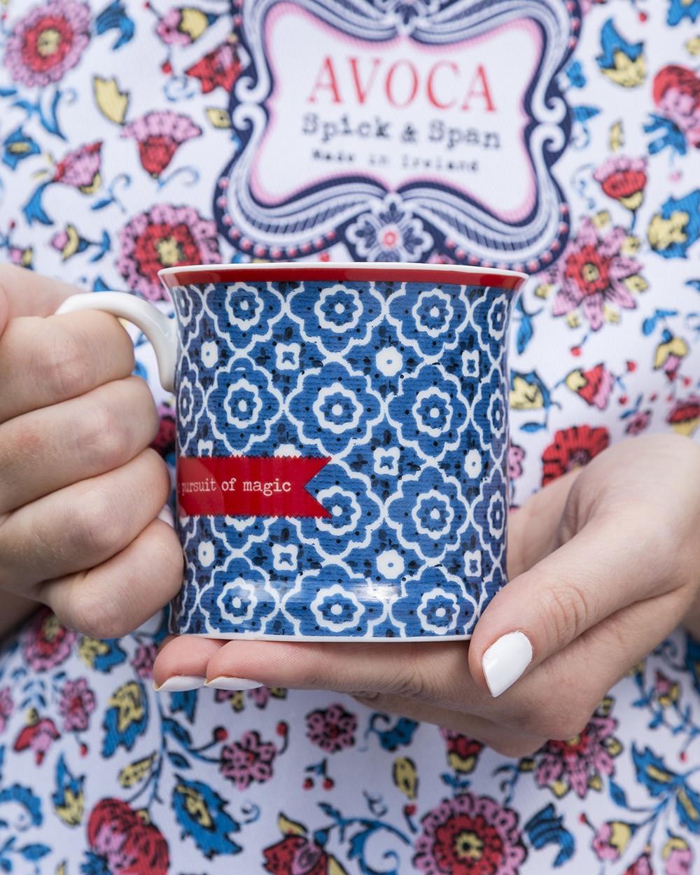 In Pursuit of Magic Flower Mug