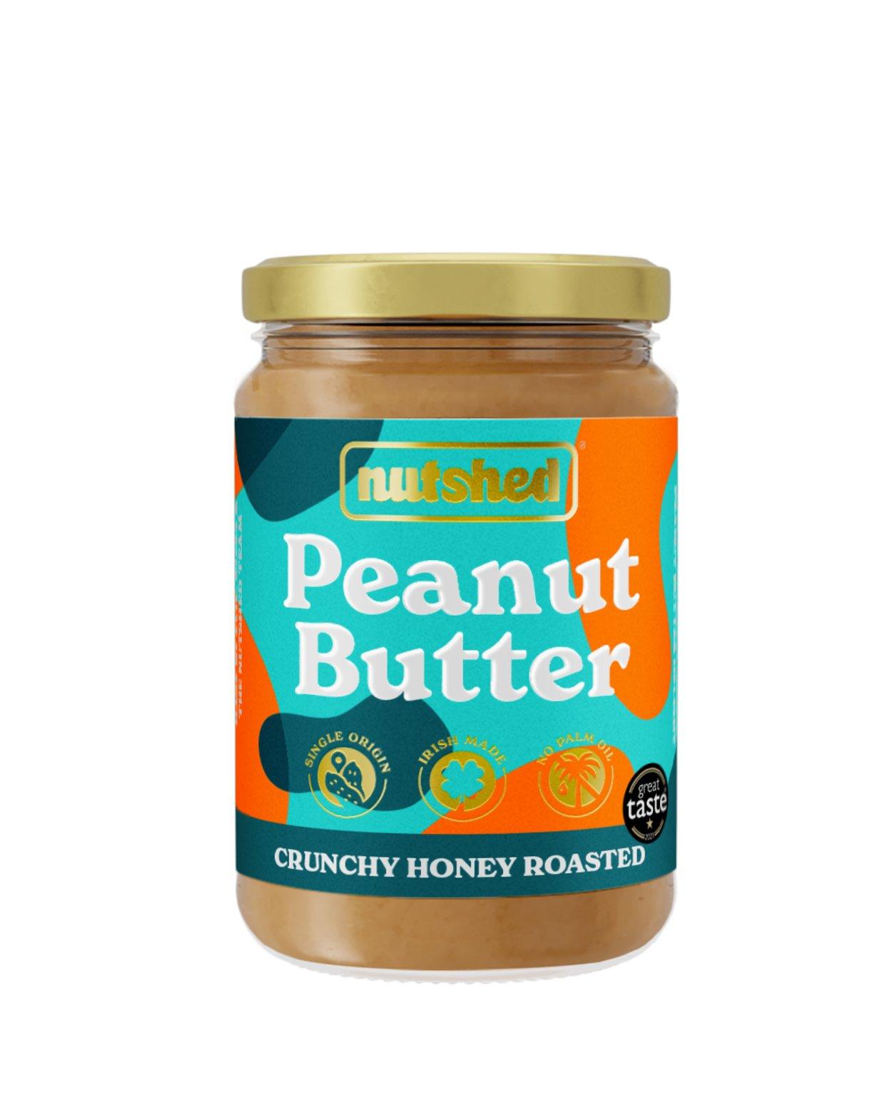 Nutshed Honey Roasted Crunchy Peanut Butter