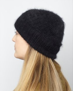 Angora Bliss Hat