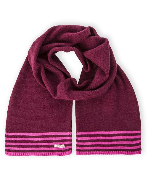 Park Life Scarf in Fuchsia Pink