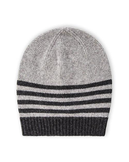 Park Life Hat in Grey & Dark Grey