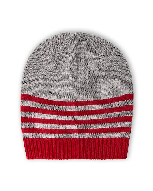 Park Life Hat in Red & Grey