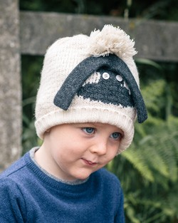 Knitted Sheep Beanie
