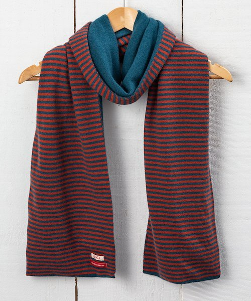 Simple Stripe Scarf