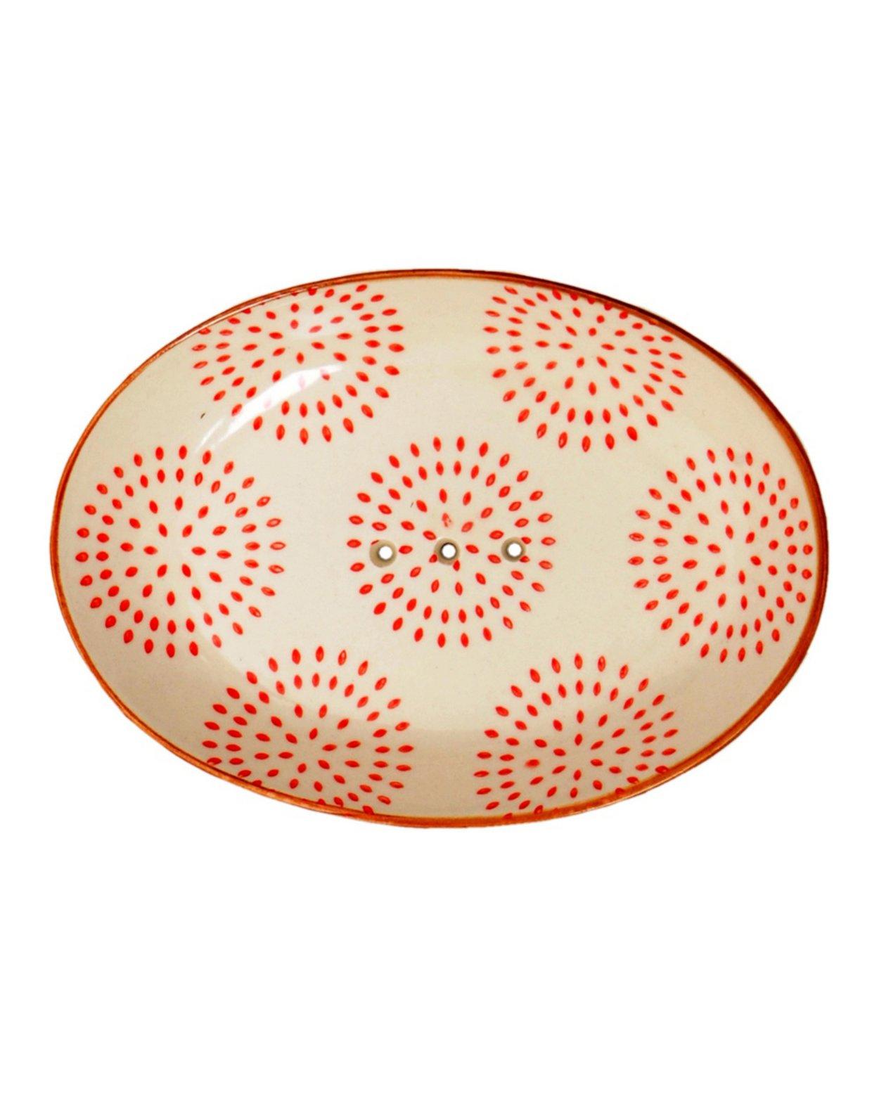 Soap Dish - Orange Retro