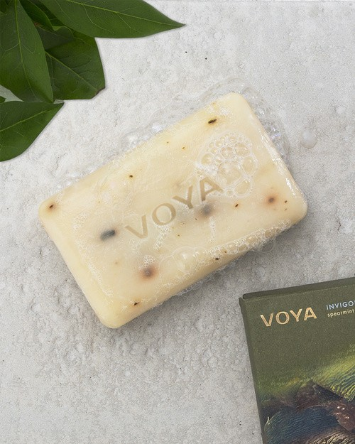 Voya Seaweed Soap - Spearmint & Rosemary