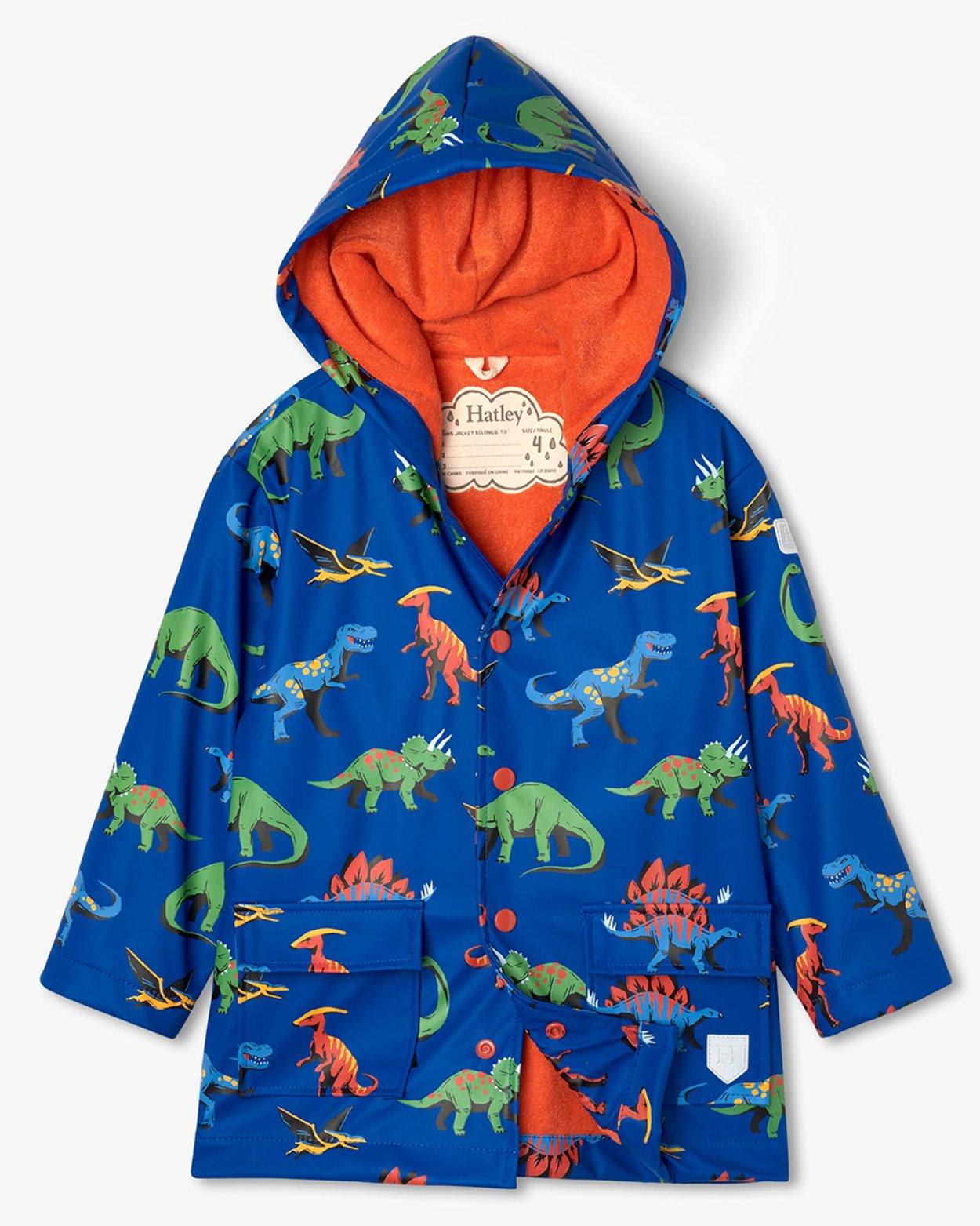Friendly Dinos Raincoat