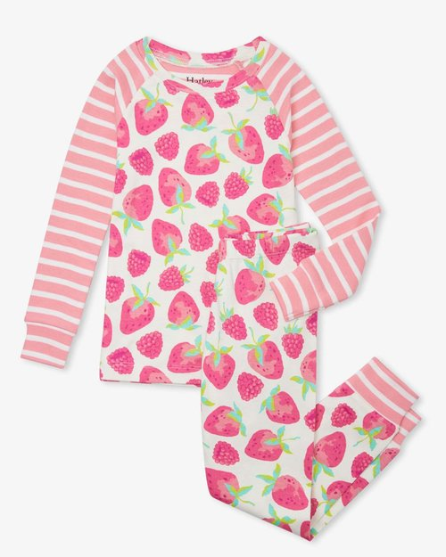 Delicious Berries Organic Cotton Pajama Set
