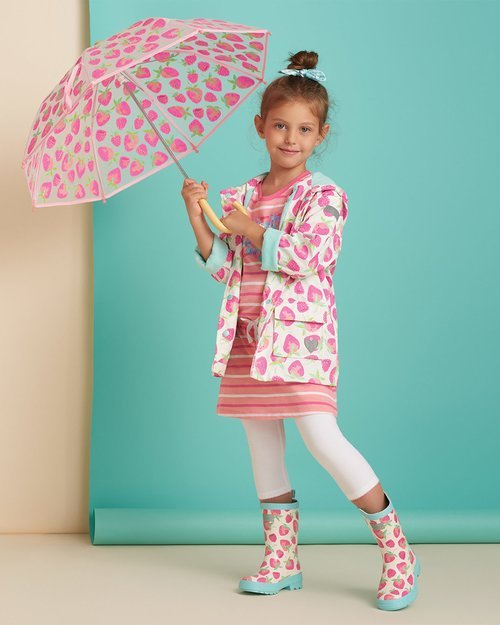 Delicious Berries Raincoat