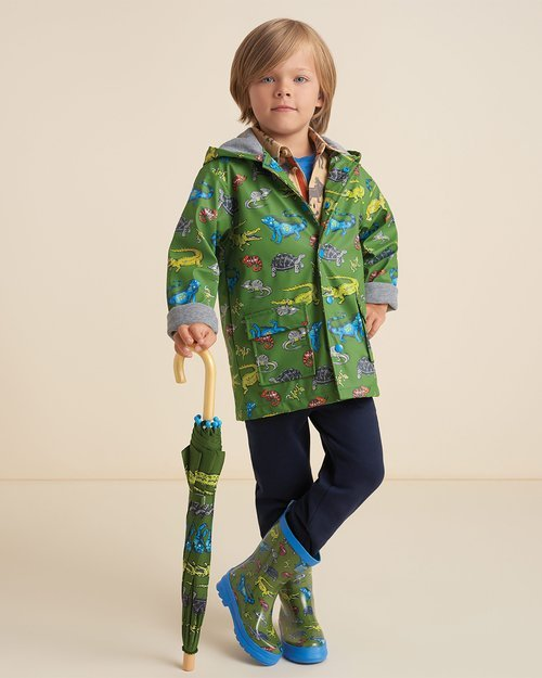 Aquatic Reptiles Raincoat