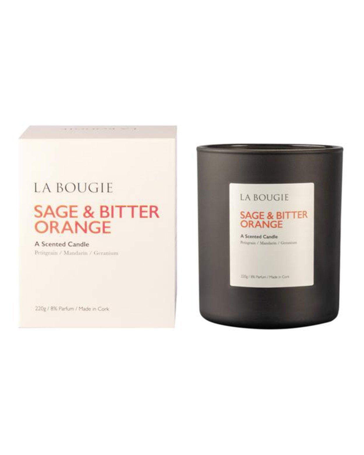 Sage & Bitter Orange Scented Candle