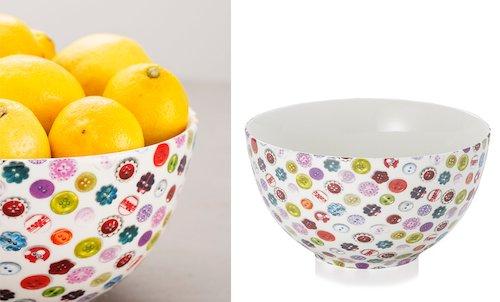 Button Salad Bowl