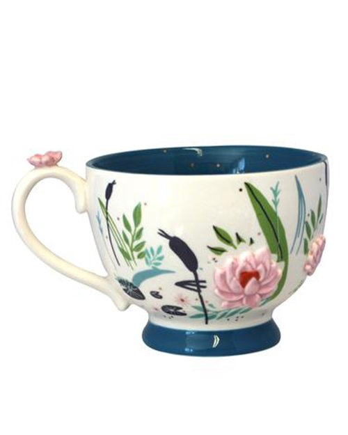 Secret Garden Swan Teacup
