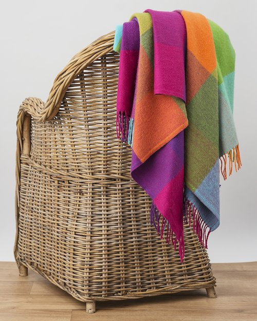 Silken Cashmere Blend Throw