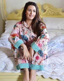 Cotton Pink Floral Pyjamas
